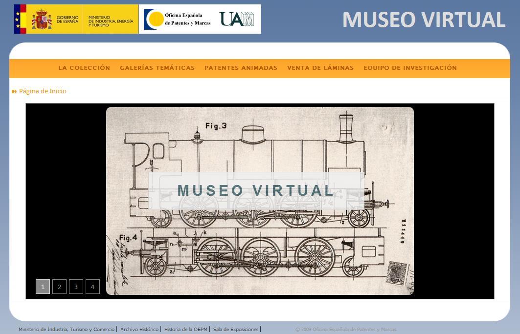 El museo virtual de la oficina espa ola de patentes y marcas for Oficina espanola de patentes y marcas