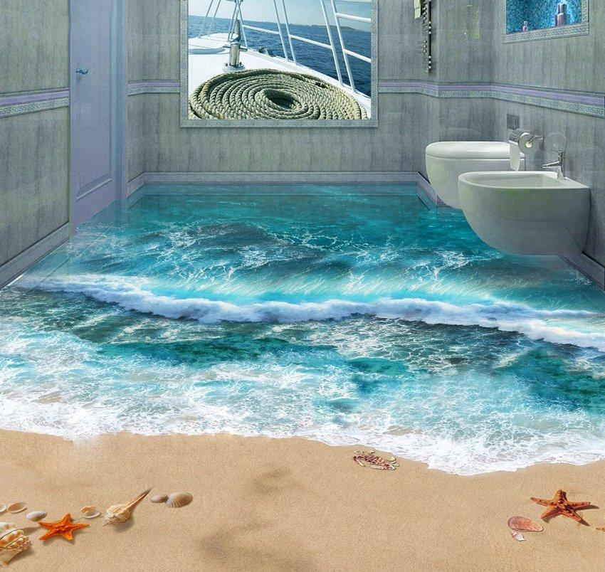 3D Floor Ocean 2