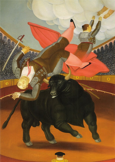 Luis Chalet,Botero,bull fighter