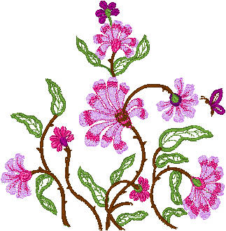 HAND EMBROIDERY FLOWER DESIGNS  Embroidery Designs