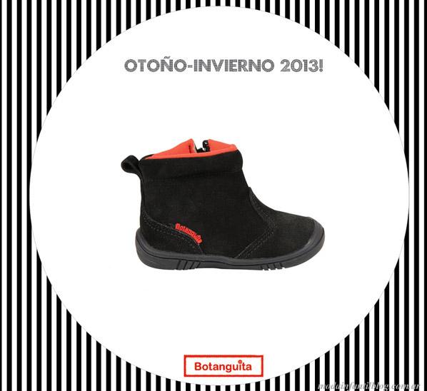 calzado para niños botanguita invierno 2013