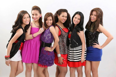 x factor philippines top 12 pictorial lucky girls