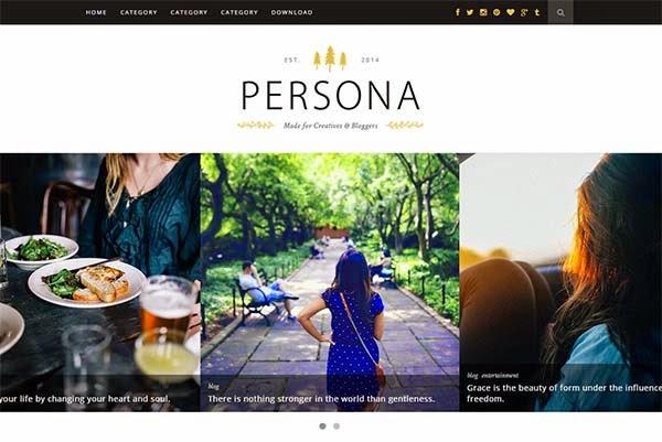 persona-free-blogger-templates