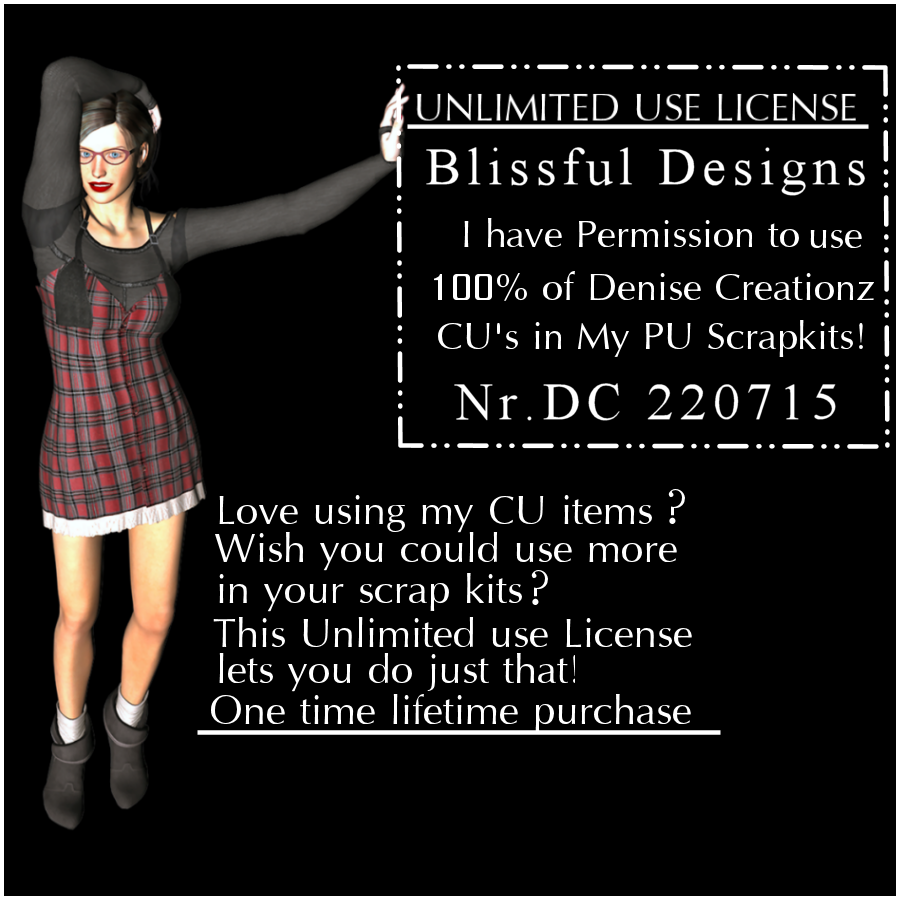 Denise Creationz License