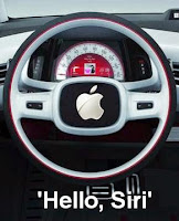 Apple's Self Driving Electric Concept Car