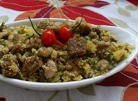 Feijão-de-Corda com Glúten e Tofu Defumado (vegana)