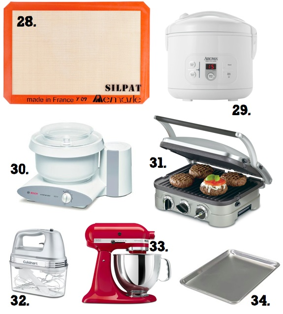 30+ Gift Ideas for that Cook on Your List www.the-taste-tester.com