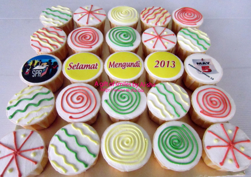 cupcakes buttercream Ai-sha Puchong Jaya