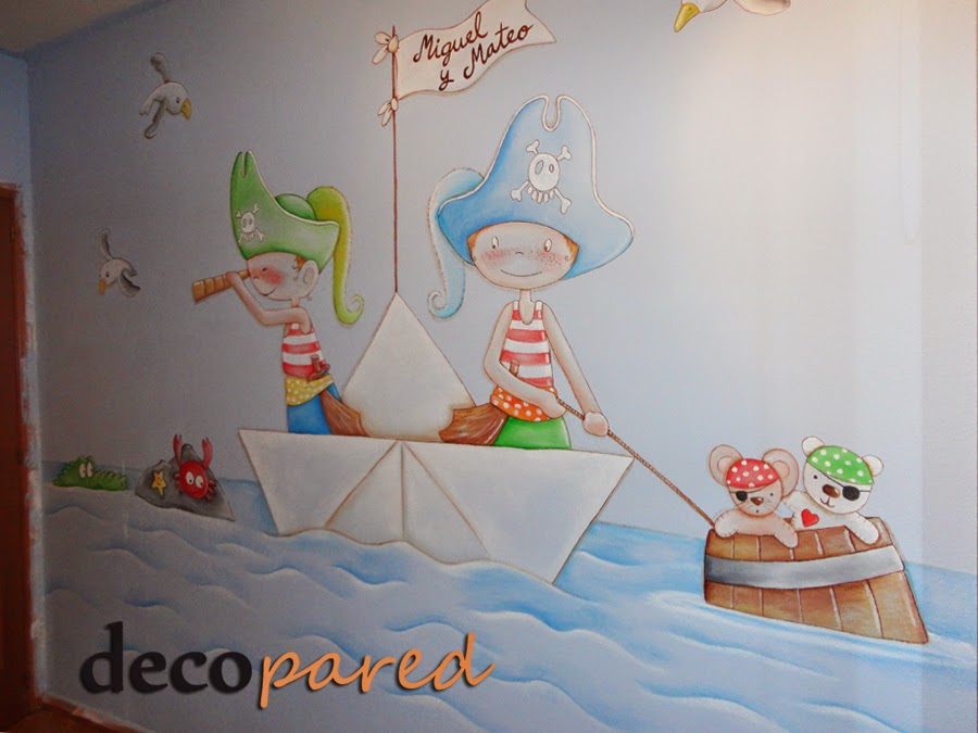 Decopared mayo 2014 for Murales pintados a mano
