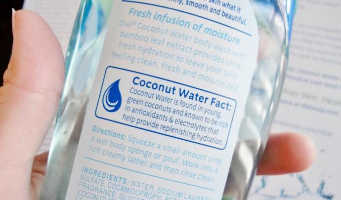 coocnut body wash