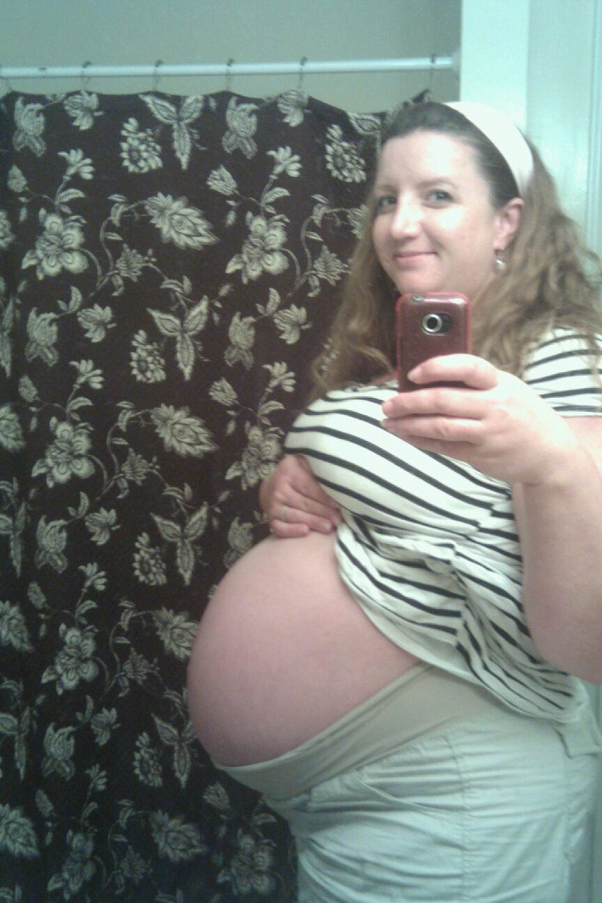 36w+belly ... giving her a total of 100,000.00 dollars by claiming she was pregnant.