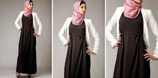 Model baju hamil muslim modis usia kandungan muda