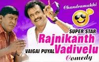 Chandramukhi comedy scenes – Rajinikanth, Vadivelu comedy videos