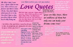 Cute teen love poems and quotes