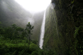 The Waipio Valley on the island of Hawaii where there have been sightings of Phantom Night Marchers