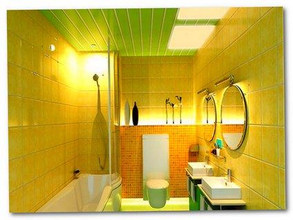 Устанавливаем пластиковые панели в ванной