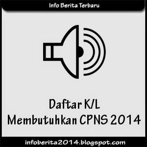 Daftar Kementerian dan Lembaga yang Membuka Lowongan Pendaftaran CPNS 2014