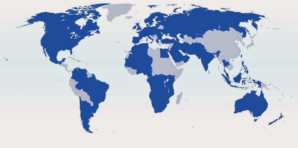 Strassen-Navigation für die Weltreise für Windows, Android und iOS (iPad, iPhone)
