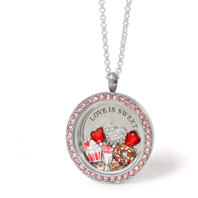 Love is Sweet - especially on Valentine's Day - Shop Origami Owl at StoriedCharms.origamiowl.com