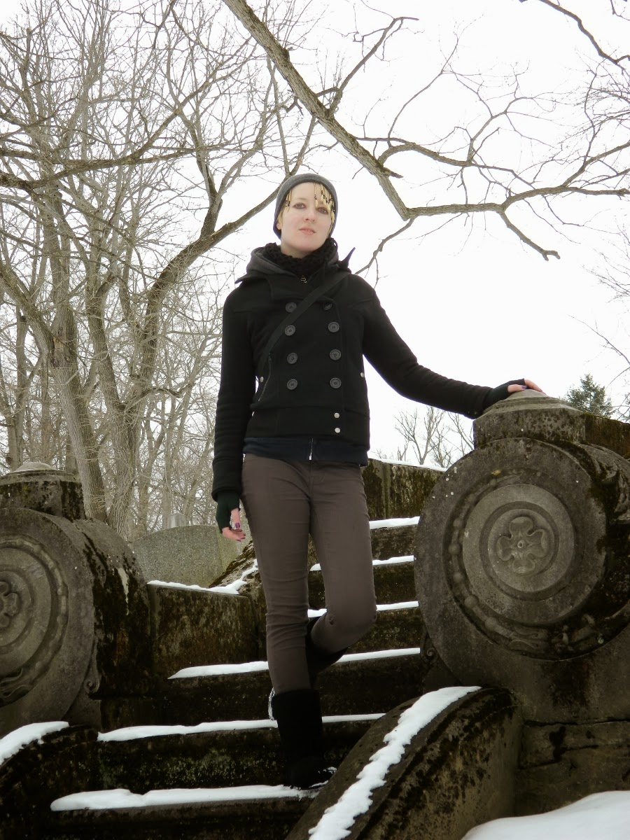 outfit ambiance jacket blue spice jeans bearpaw boots - woodlawn cemetery elmira ny