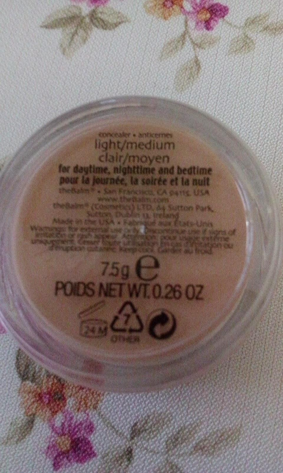the balm concealar light medium
