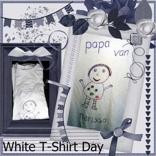 "Feb.2016 – Papa van ""from"" Nerissa T-shirt"