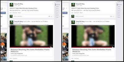 Cara Menghilangkan Link Porno di Facebook
