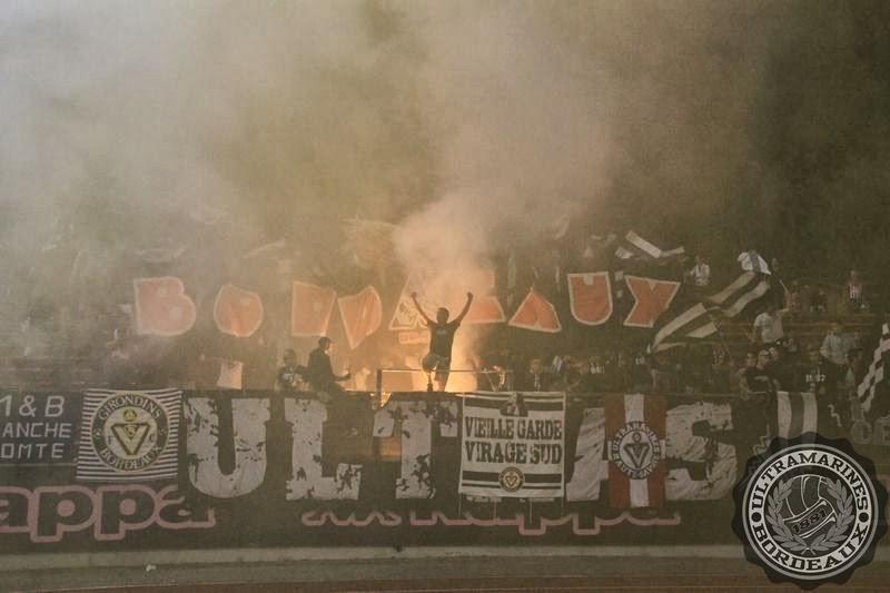 Les Ultras enflamment le parcage à Annecy !
