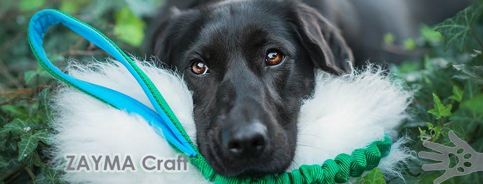ZAYMA Craft - akcesoria dla psów, szarpaki, obroże, szelki, smycze