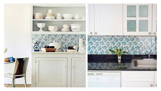 Home Styling Ana Antunes Original Ways Of Using Wallpaper Formas Orginais De Usar Papel