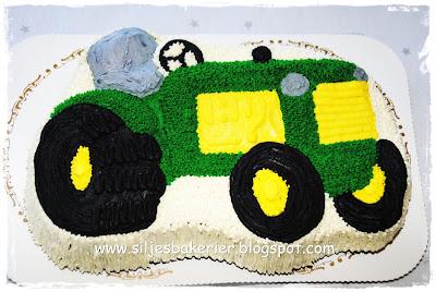 Traktorkake oppskrift
