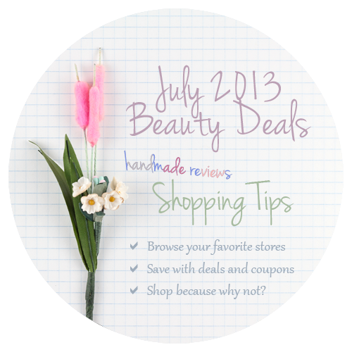Beauty Coupons and Deals July 2013