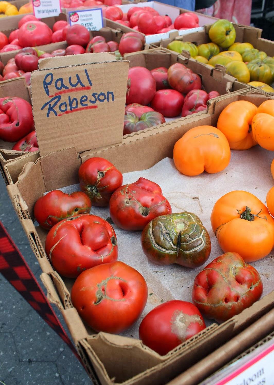 Runaway Apricot   Paul Robeson Tomatoes