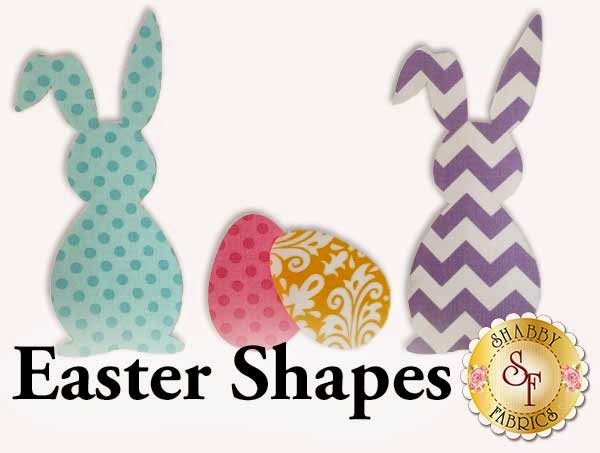 Easter Shabby Shapes | Shabby Fabrics