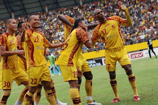 Foto Sriijaya Juara ISL 2012
