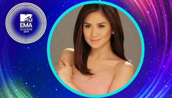 Sarah Geronimo wins 2014 MTV EMA Best Southeast Asia Act