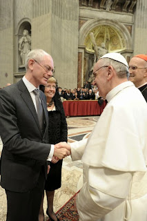van Rompuy and the pope
