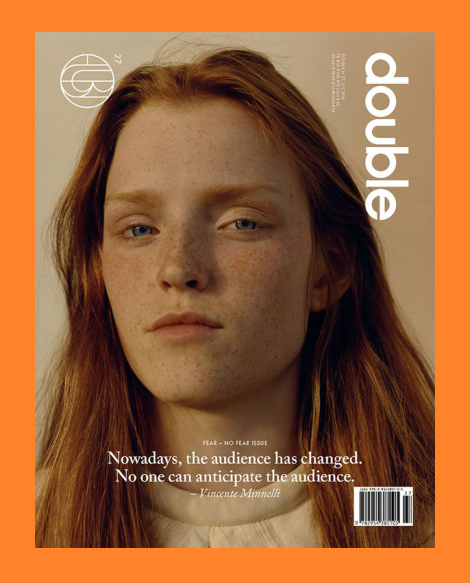 Double Magazine Issue 27 Cover by Jamie Hawkesworth