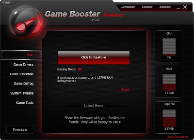 descargar game booster 4