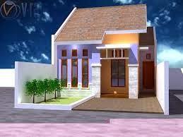 Desain Depan Rumah Tampak Dari Depan