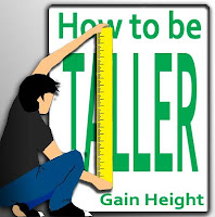 gain height and be taller by eating the right food