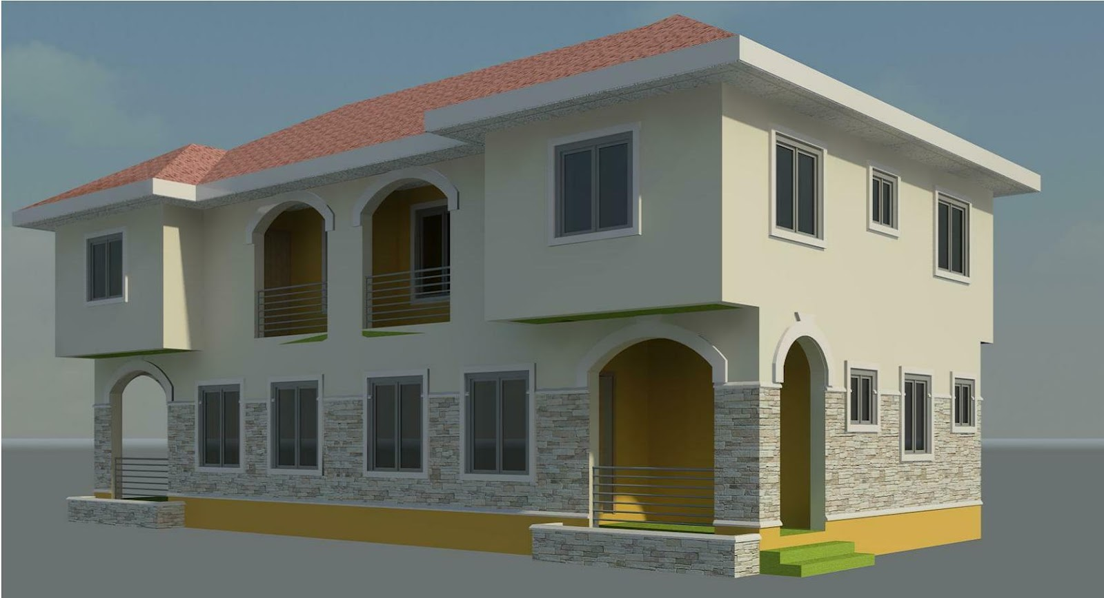 2 storey apartments designs joy studio design gallery for One story apartments