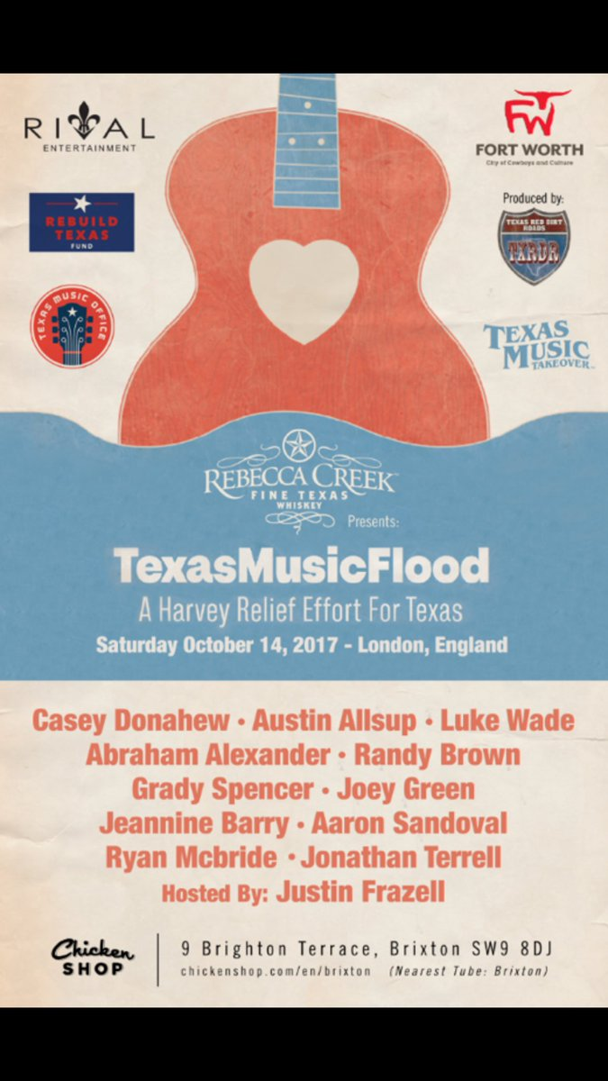 Texas Music Flood Relief