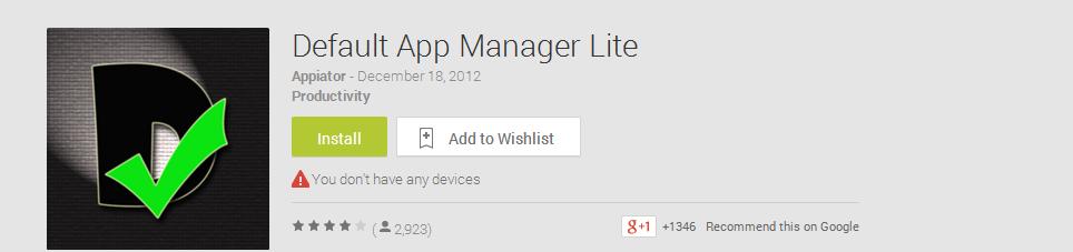 Mengubah aplikasi default android