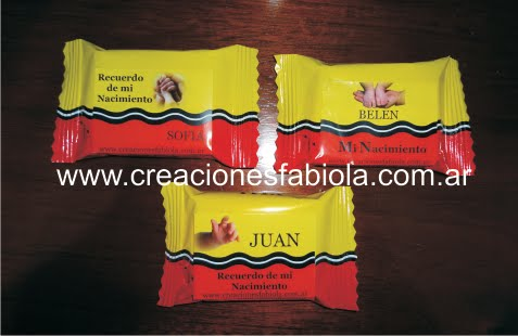 Chocolate con Oblea Personalizadas