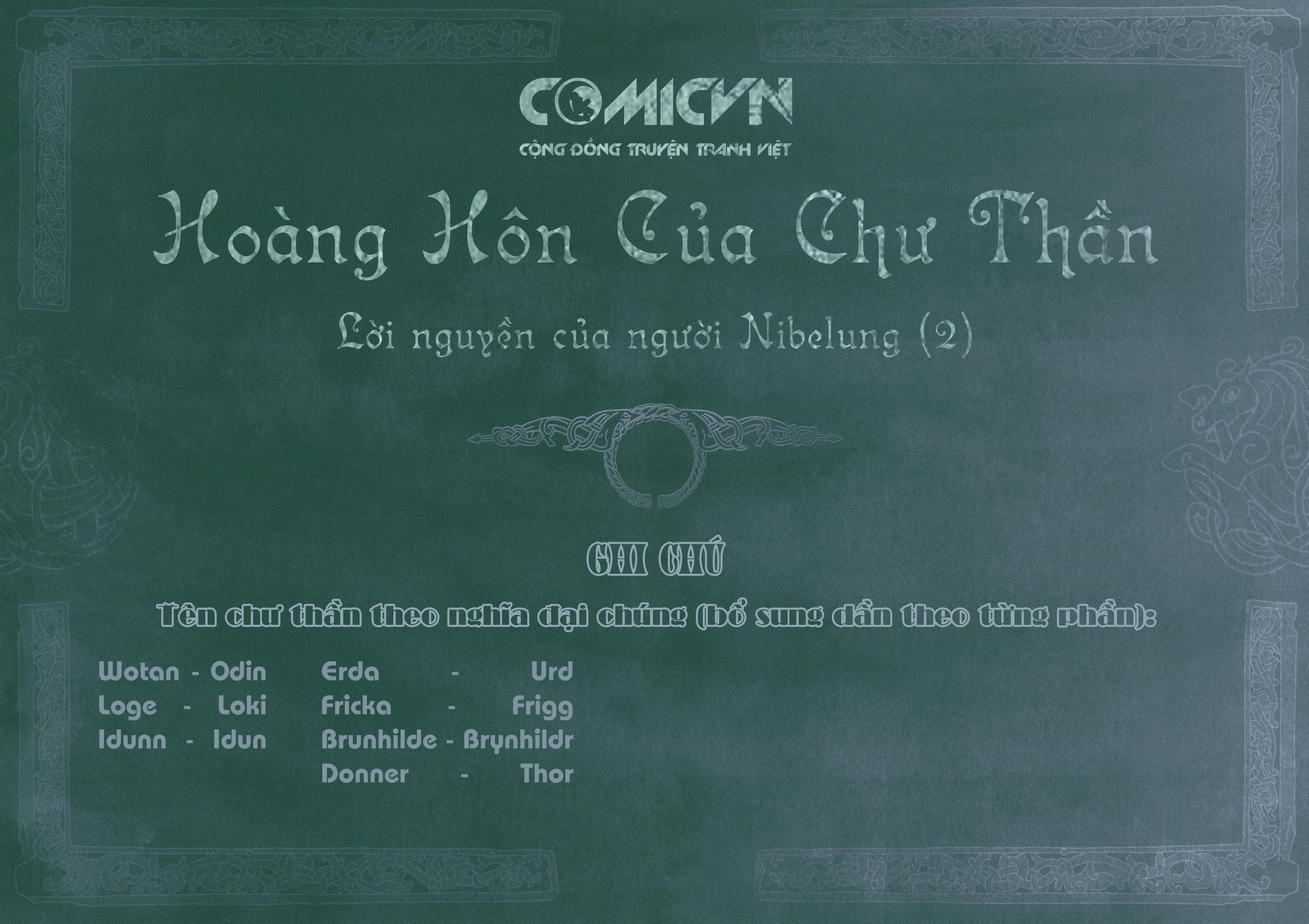 Twilight of the Gods - Hoàng Hôn Của Chư Thần