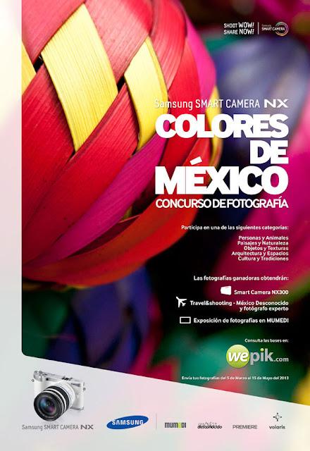 """Concurso de Fotografía """"Colores de México"""" 2013"""