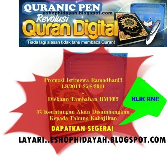 Quranic Pen Lain Dari Yang Lain!