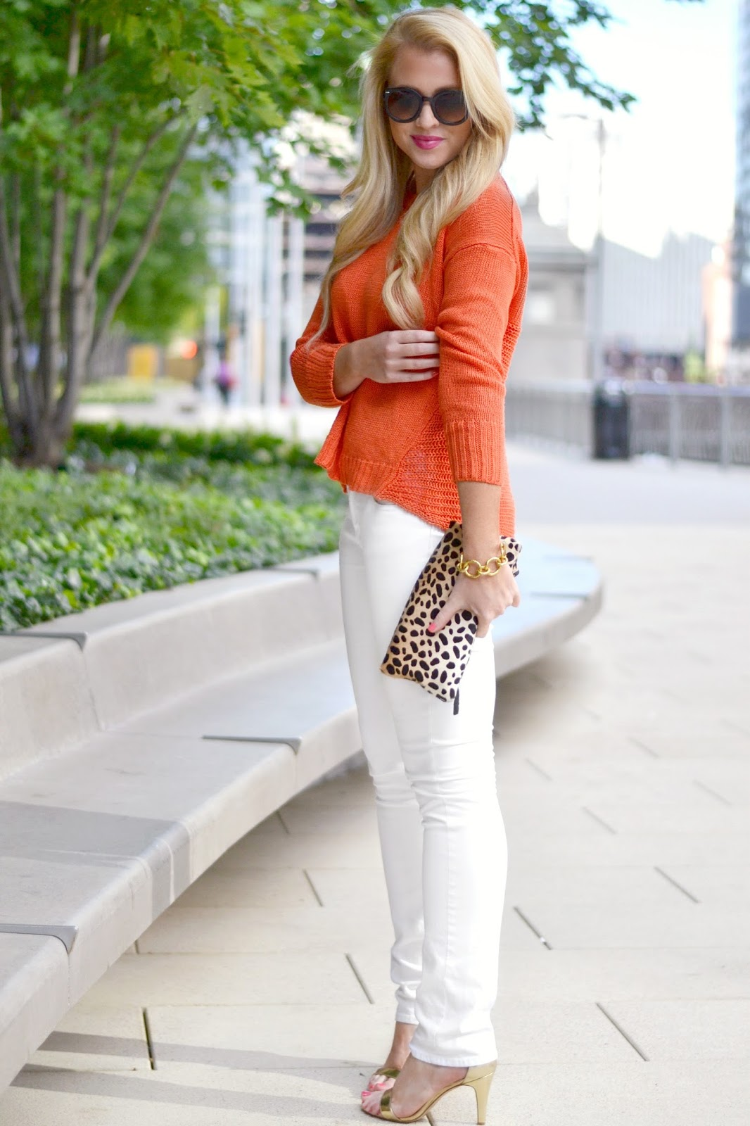 Orange | bright and beautiful | Chicago Fashion   Lifestyle Blog