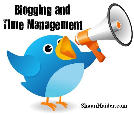 How to Manage Your Time on Your Blog